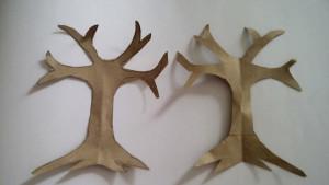 Step 2: paper craft tree tutorial