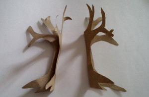 Step 3: paper craft tree tutorial