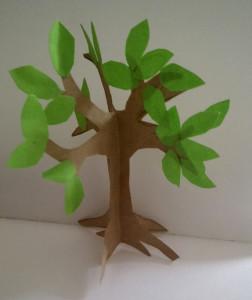 Step 6: paper craft tree tutorial
