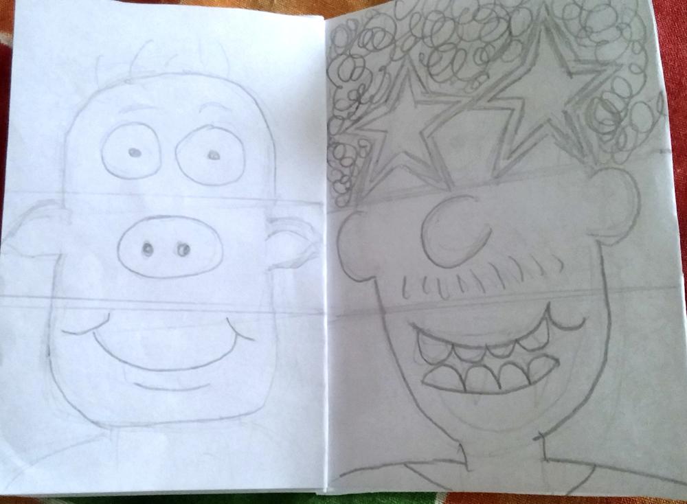 Monster Flip Book - Step 4
