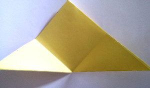 Paper owl Bookmark step_3