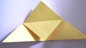 Paper owl Bookmark step_3_1