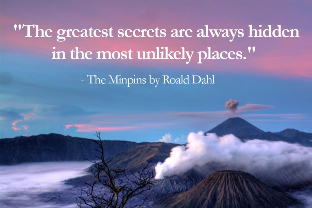 The minpins - top 10 Roald Dahl Quotes - Imagine Forest
