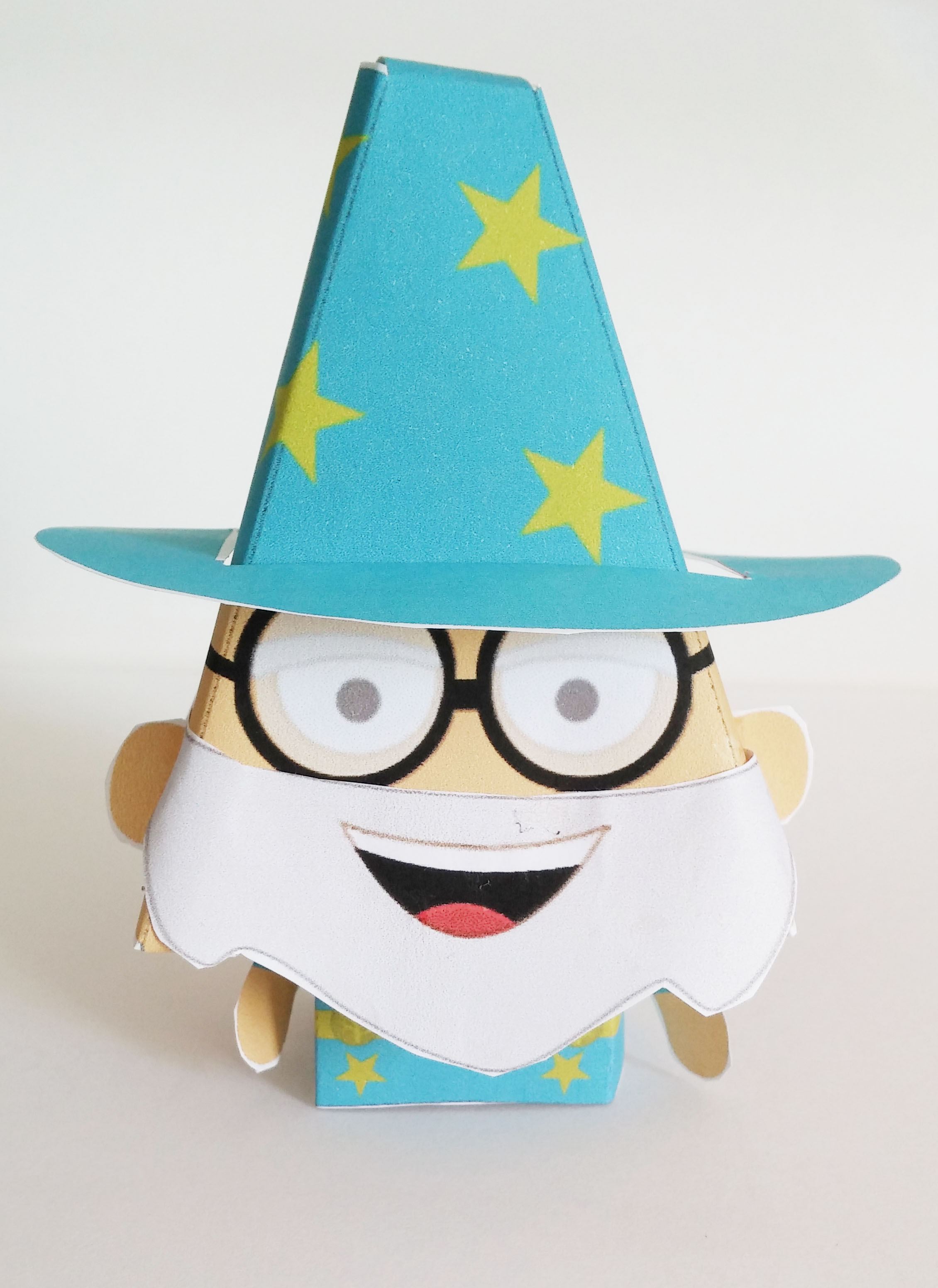 Easy Paper Craft Wizard Tutorial  Imagine Forest