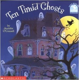 Ten Timid Ghosts - Halloween Books for Kids