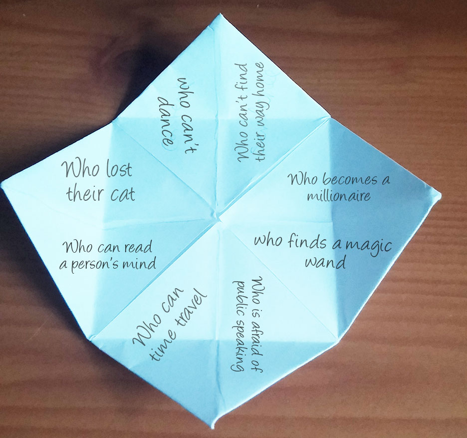 make your own paper story idea generator! - imagine forest