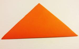 Easy origami fox tutorial -1