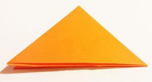 Easy origami fox tutorial -2