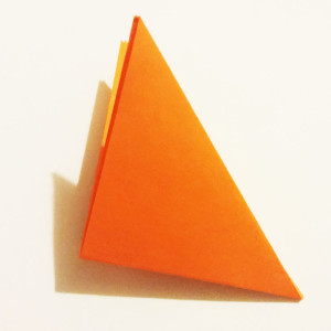 Easy origami fox tutorial -3