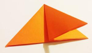Easy origami fox tutorial -4
