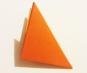 Easy origami fox tutorial -5