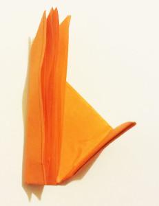 Easy origami fox tutorial -7