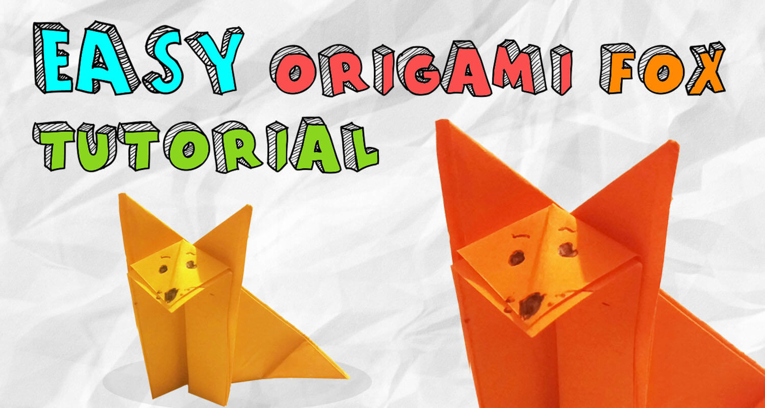 Easy origami fox tutorial imagine forest easy origami fox tutorial jeuxipadfo Gallery