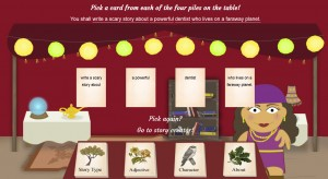 Imagine Forest - story idea generator for kids