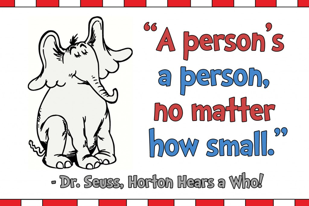 dr seuss quote_ no matter how small _ 10 Life lessons I've learned from Children's Books