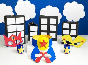 Cereal Box superhero costume for kids