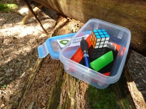 Outdoor kids summer activities - treasure hunt-imagine forest