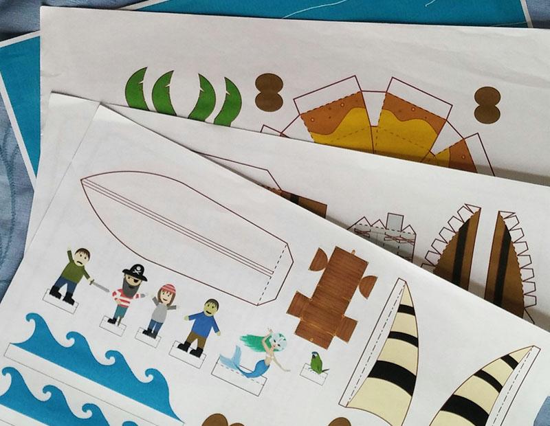 How To Make A Craft Pirate Ship