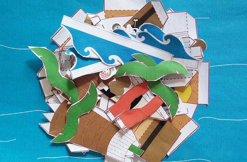 Paper Craft Pirate Story-Telling Pack