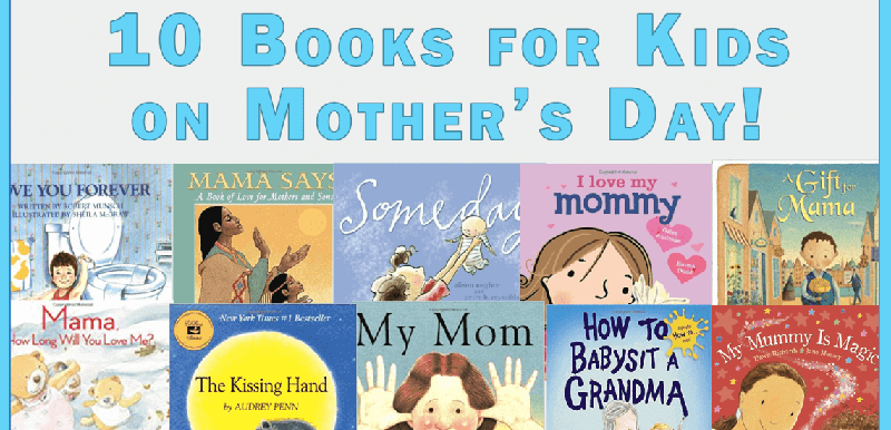 Mother's Day Books for Kids_imagine forest