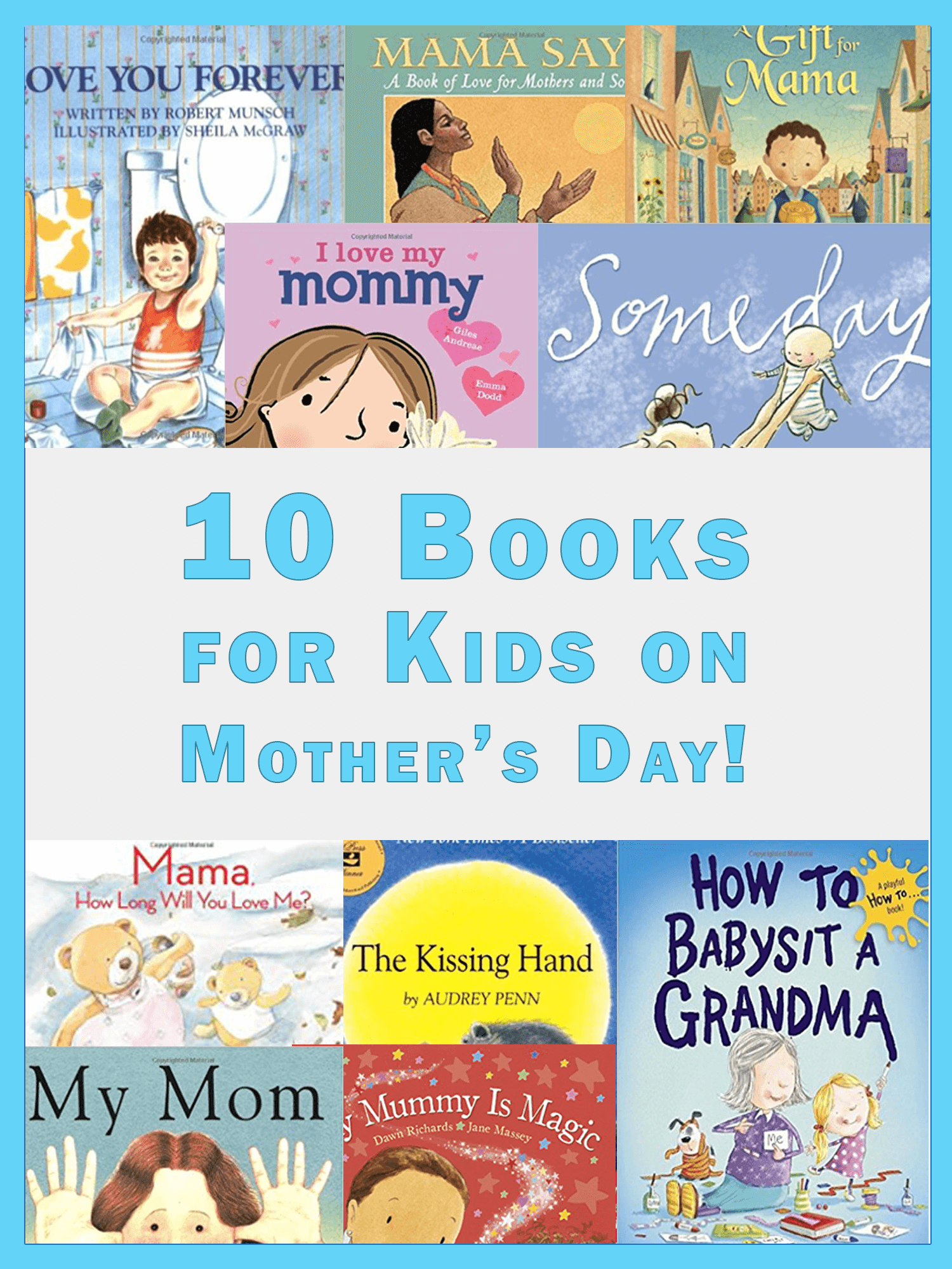10 mother s day books for kids imagine forest