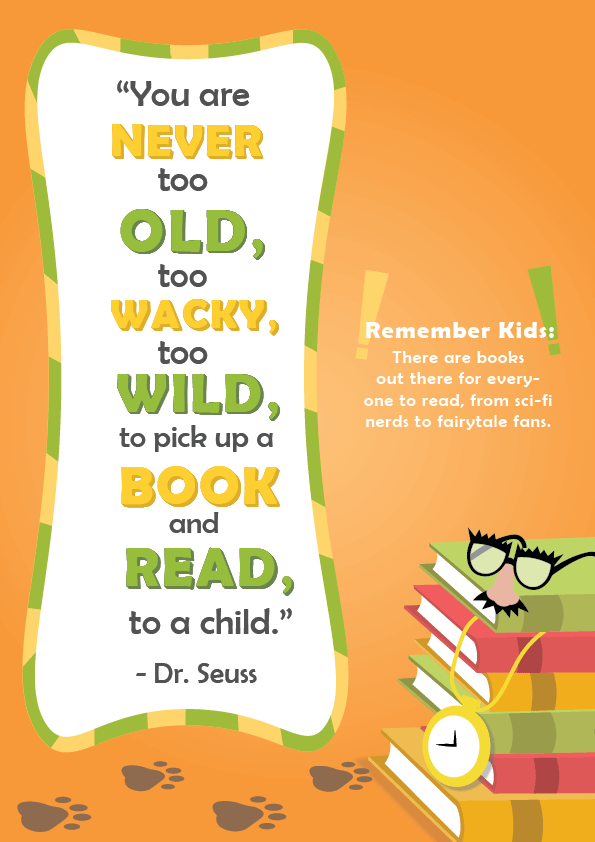 Dr Seuss Quotes About Reading 5 Dr. Seuss Quotes about Reading | Imagine Forest Dr Seuss Quotes About Reading