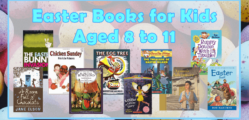 easter books for kids aged 8 to 11 _ Imagine Forest