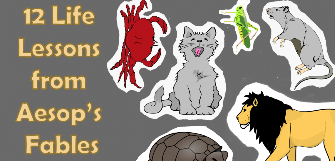 12 life lessons from aesops fables_imagine forest