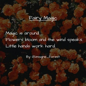 fairy poems _ imagine forest _ story saturday