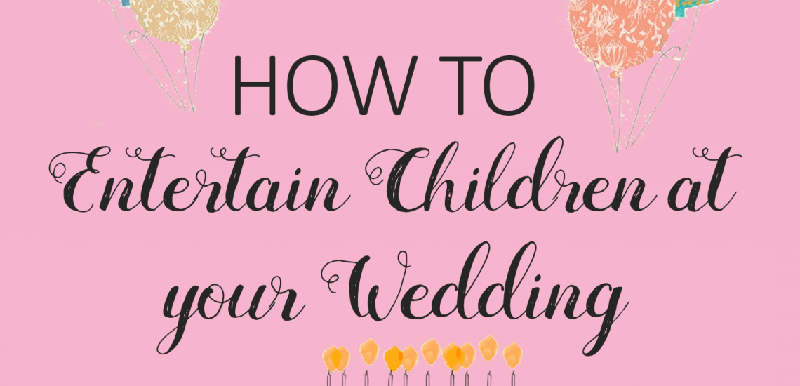How To Entertain Children At Your Wedding _ imagine forest
