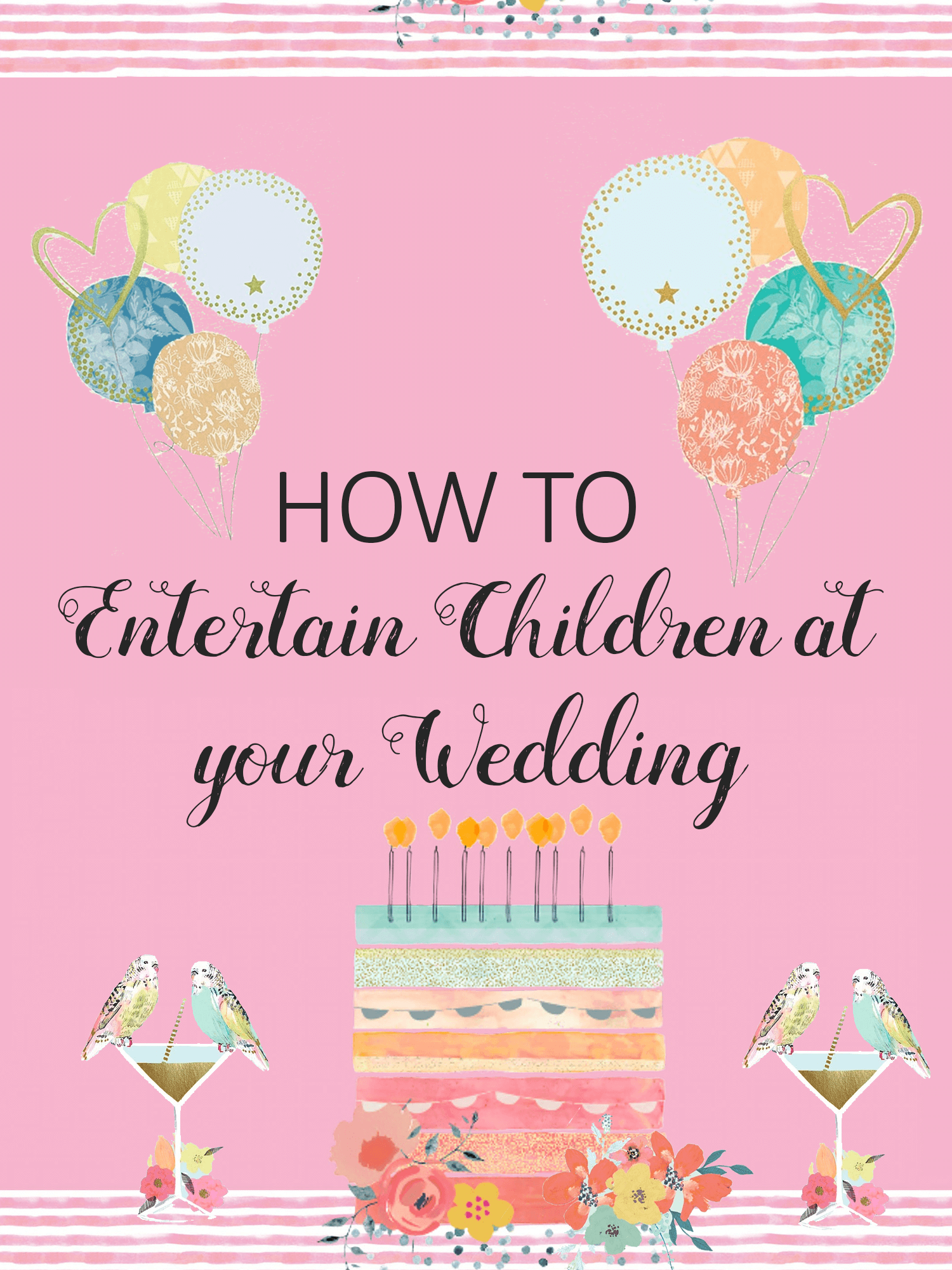 How to Entertain Children at Your Wedding | Imagine Forest