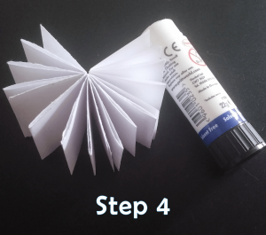 step 4_How to Make a Mini Paper Notebook Tutorial