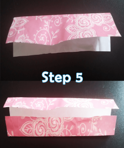 step 5_How to Make a Mini Paper Notebook Tutorial