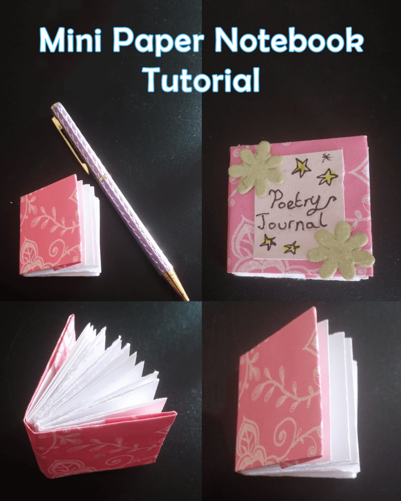 How to Make a Mini Paper Notebook Tutorial