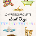 10 Writing Prompts about dogs for kids _imagine forest