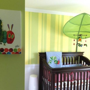 Children's Book Inspired Nursery _ The hungry caterpillar
