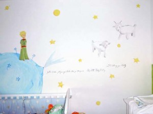 Children's Book Inspired Nursery _ The little prince