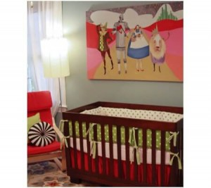 Children's Book Inspired Nursery _ The wizard of Oz