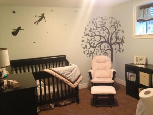Children's Book Inspired Nursery _ Peter pan