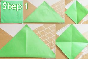 step 1_ DIY Animal Envelopes tutorial