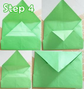 step 4_DIY Animal Envelopes tutorial
