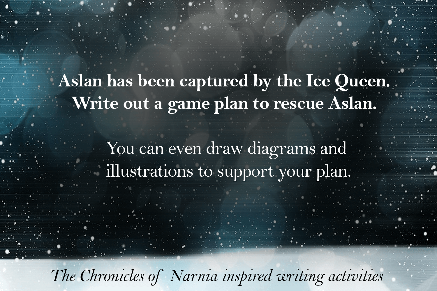 5 Writing Activities: The Chronicles of Narnia | Imagine Forest for Narnia Aslan Quotes  110zmd