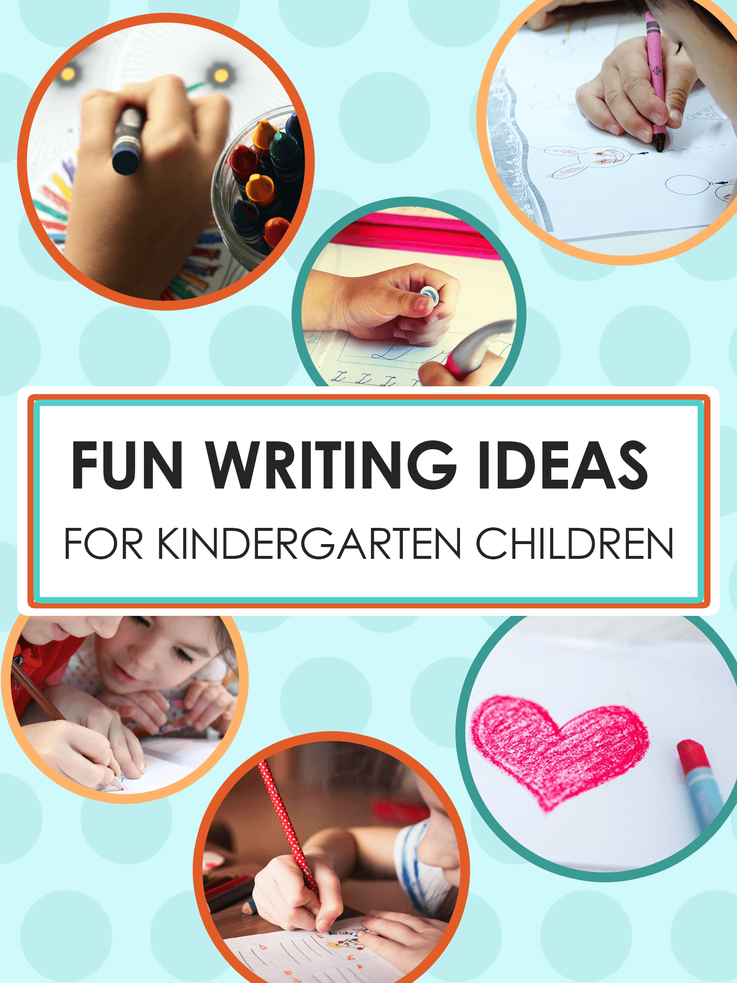 Fun Writing Ideas for Kindergarten Children | Imagine Forest