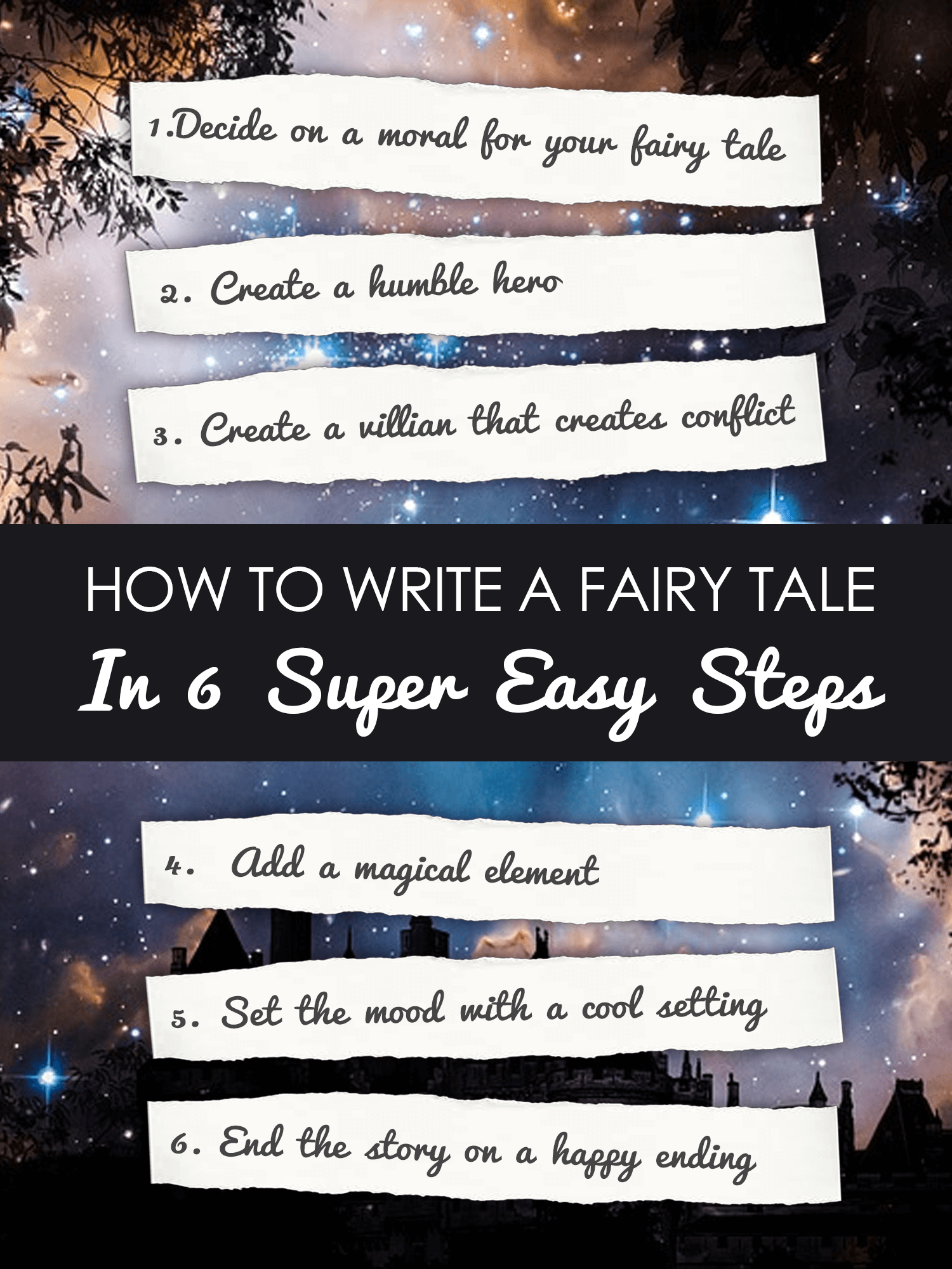 How to Write a Fairy Tale in 6 Steps imagine forest