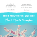 How to Write Your First Ever Haiku Plus 6 Tips & examples imagine forest
