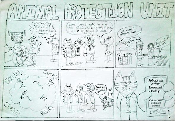 comic strip example