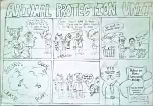 animal protection unit comic strip example