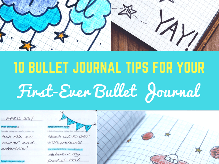 10 Bullet Journal Tips for your first-ever bullet Journal-imagine forest
