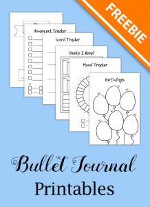 bullet journal templates for kids