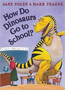 Hilarious Back to School Picture Books_How Do Dinosaurs Go To School